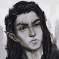 Lucius Tenebril - Half-Elf Sorceror