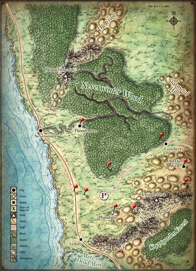 The sword coast. Fixing DM mistakes.